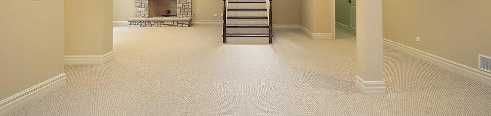 spacious hallway with tiled floor