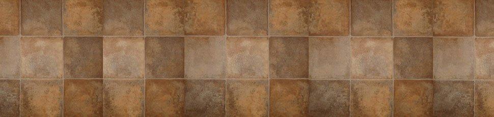 quarry tile effect vinyl flooring