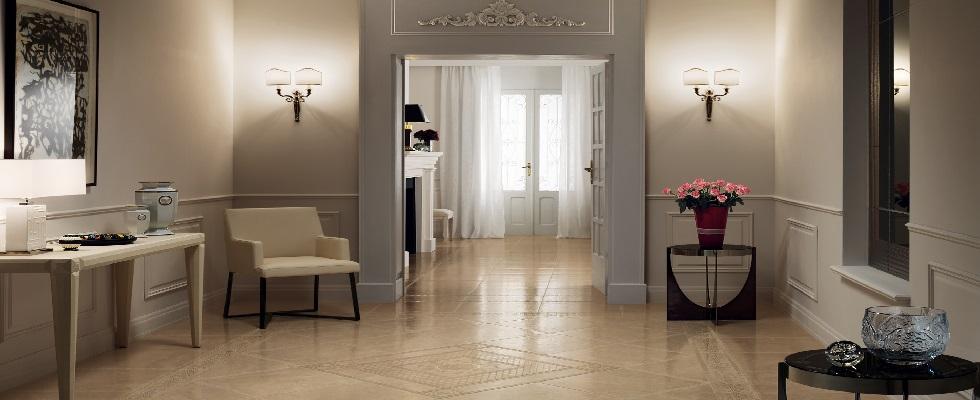 corridoio e arredamento per ingresso