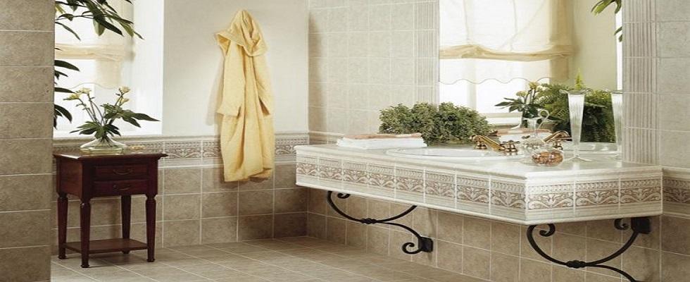 bagno con rivestimento calliope