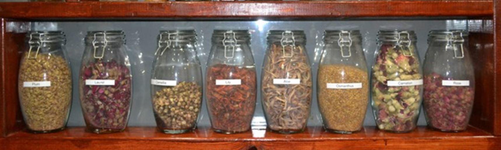 Our tea selection
