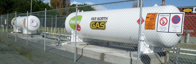 Gas bottle services in Top of the North Island