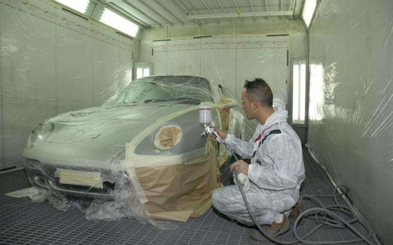 Verniciatura Porsche