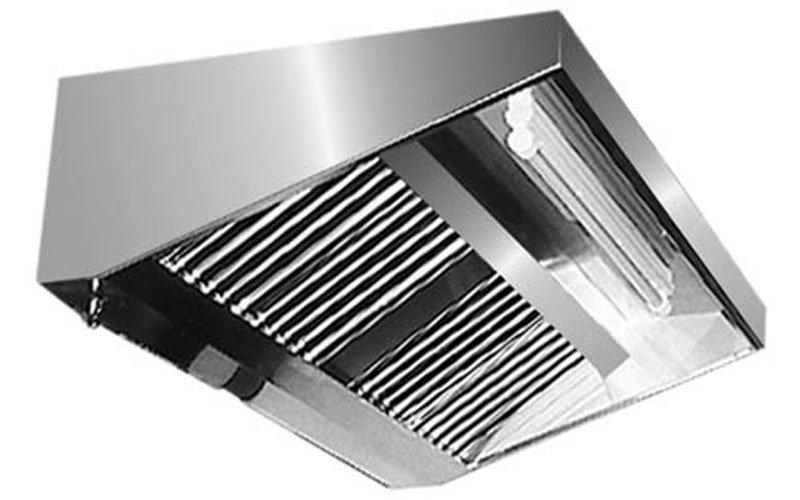Cappe in acciaio inox prato italsteel - Gold system cappe per cucina ...