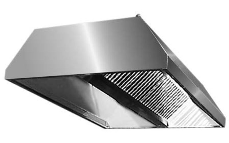 Cappe in acciaio inox prato italsteel - Cappa cucina acciaio ...