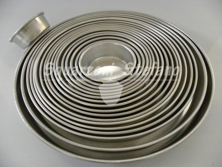 Tortiere teglie alluminio