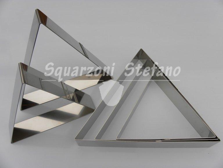 Anelli inox anelli triangolari