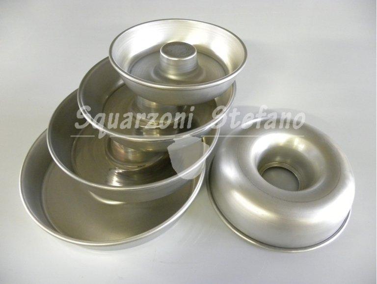 Forme cottura ciambelle in alluminio