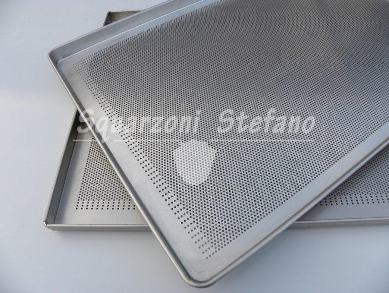 Tortiere teglie forate alluminio
