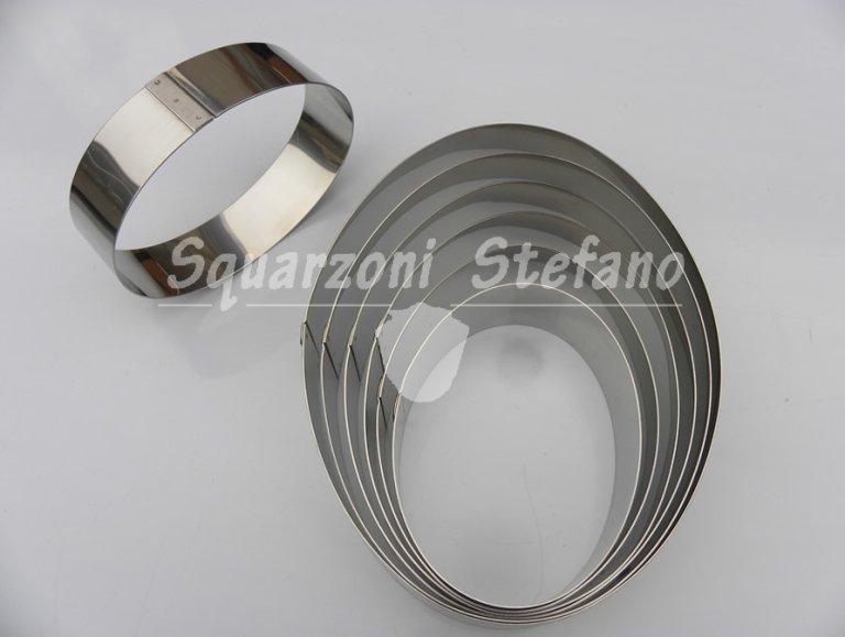 Anelli inox anelli ovali