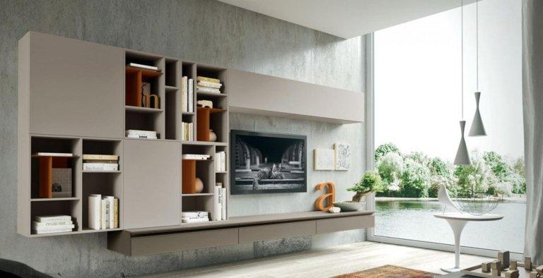 Mobili orzinuovi - Corte Franca - Soggiorno moderno