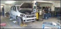 riparazione di auto d'epoca