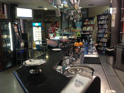 bancone bar chalet trevi