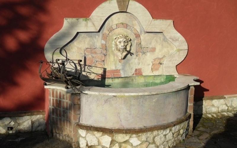 Ristrutturazione fontana