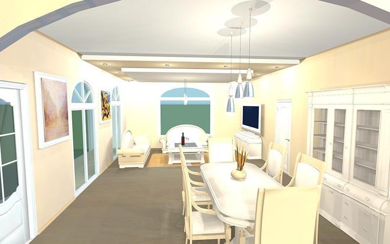 Progettazione edile interno casa