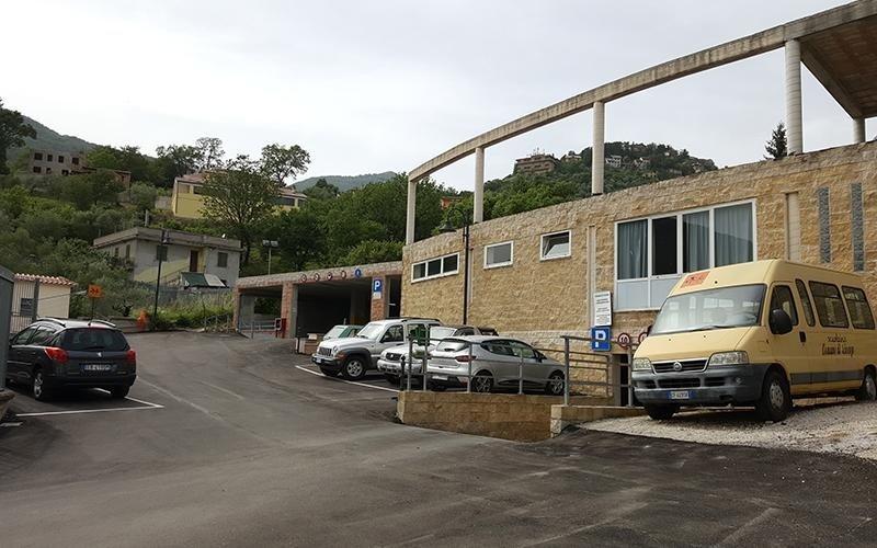 Realizzazione parcheggio