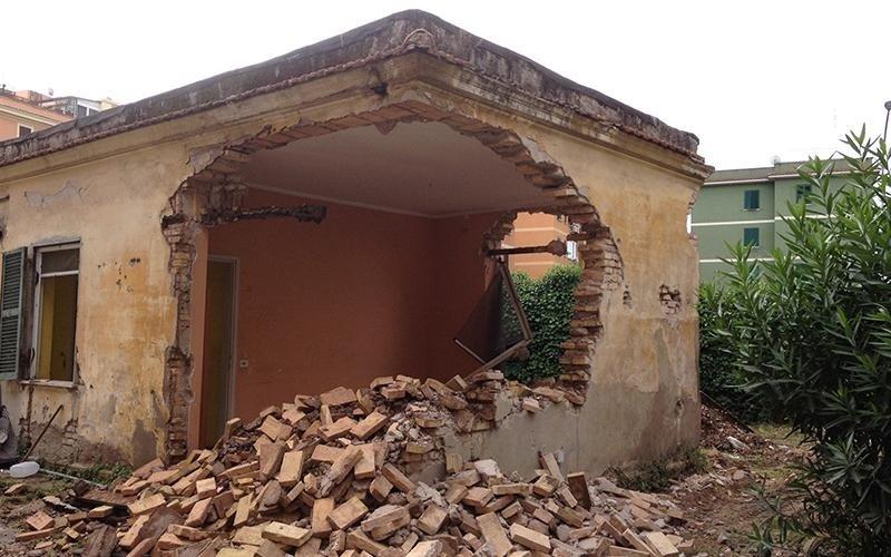 Demolizioni con taglio in cantiere