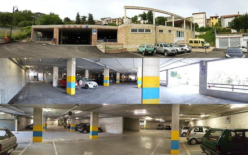 Panoramiche parcheggio multipiano