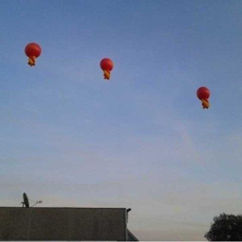 Palloni aerostatici giganti