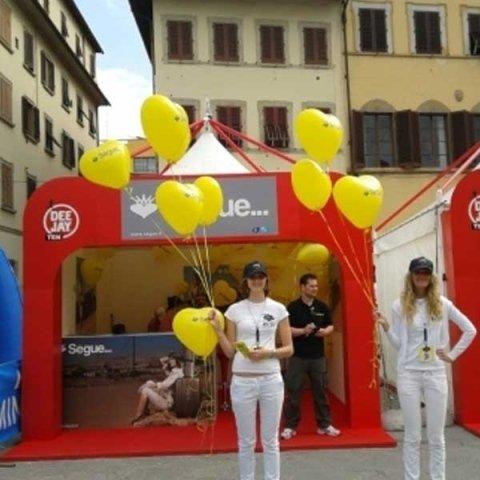 Stand segue alla Maratona di Firenze