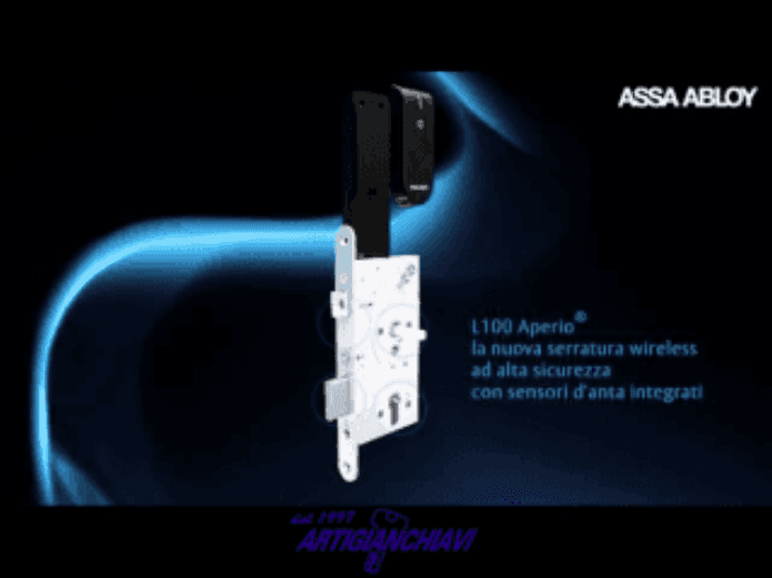serratura wireless per porte blindate