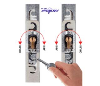 minisbarre Mul-T-Lock