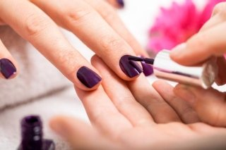 manicure smalto monofasico