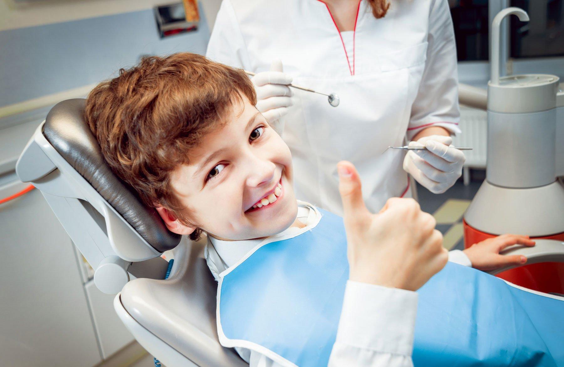 Visita dentistica per bambini presso Odontotraona a Traona (SO)