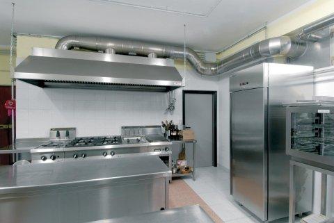 Impianti di aspirazione per cucine professionali su misura per ristoranti