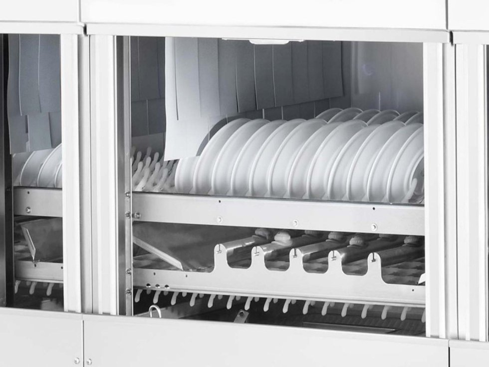 lavastoviglie a traino modulari