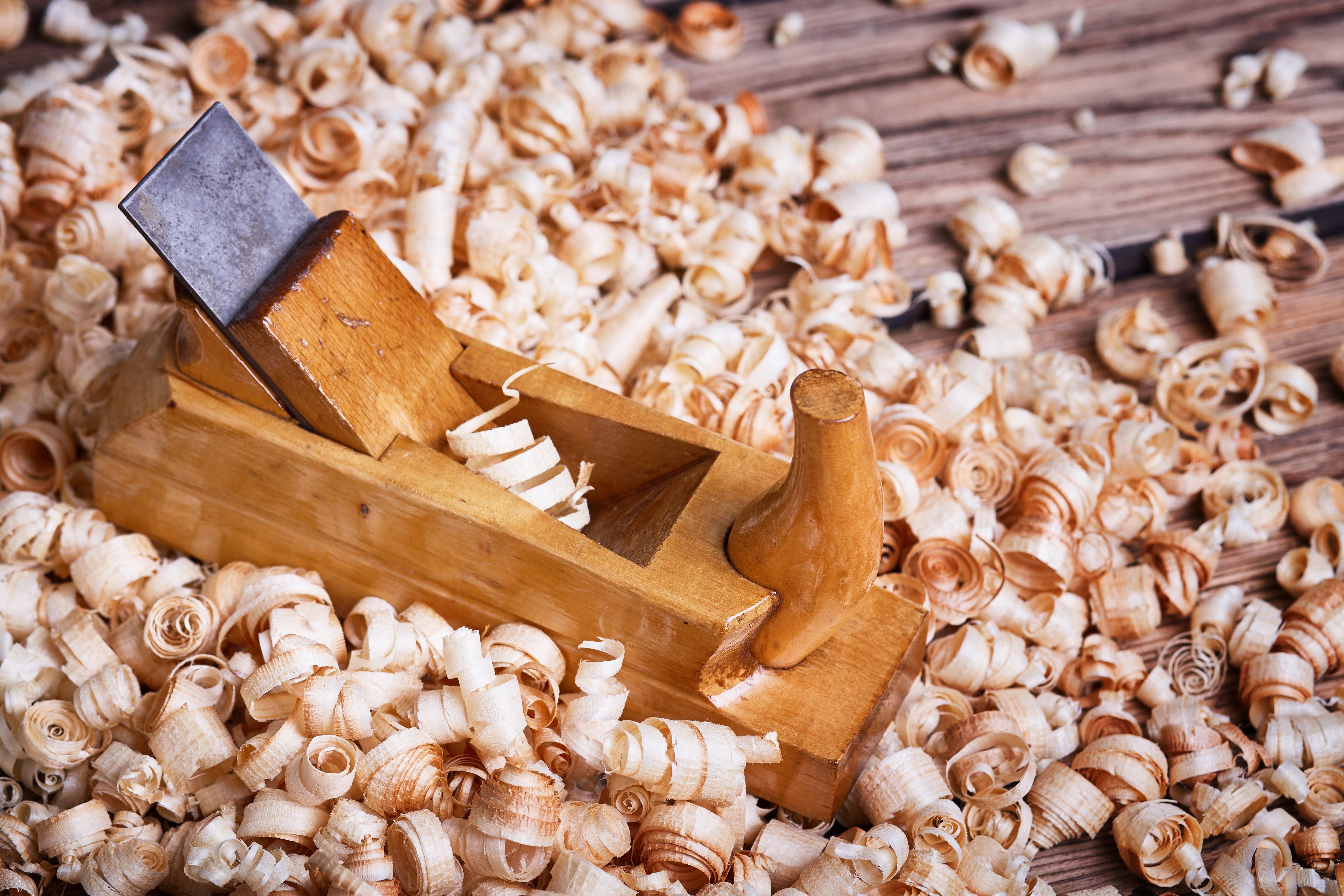 wooden peel