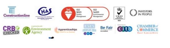 Constructionline CHAS citb logos