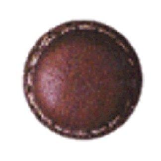 bottone in pelle tondo