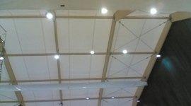 Illuminazione palazzetto multifunzionale