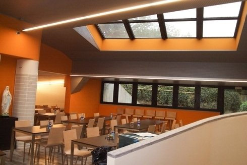 Lighting systems for public rooms