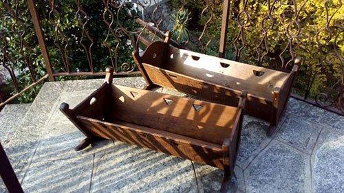 culle in legno