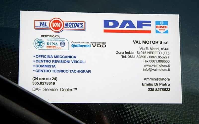 officina meccanica val motors