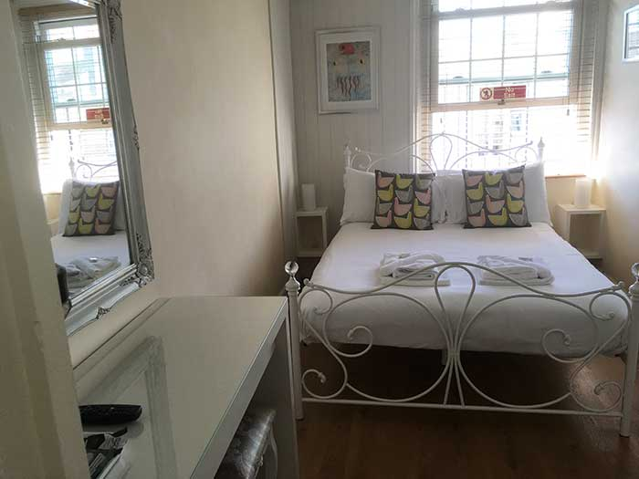 Double room in the guest house