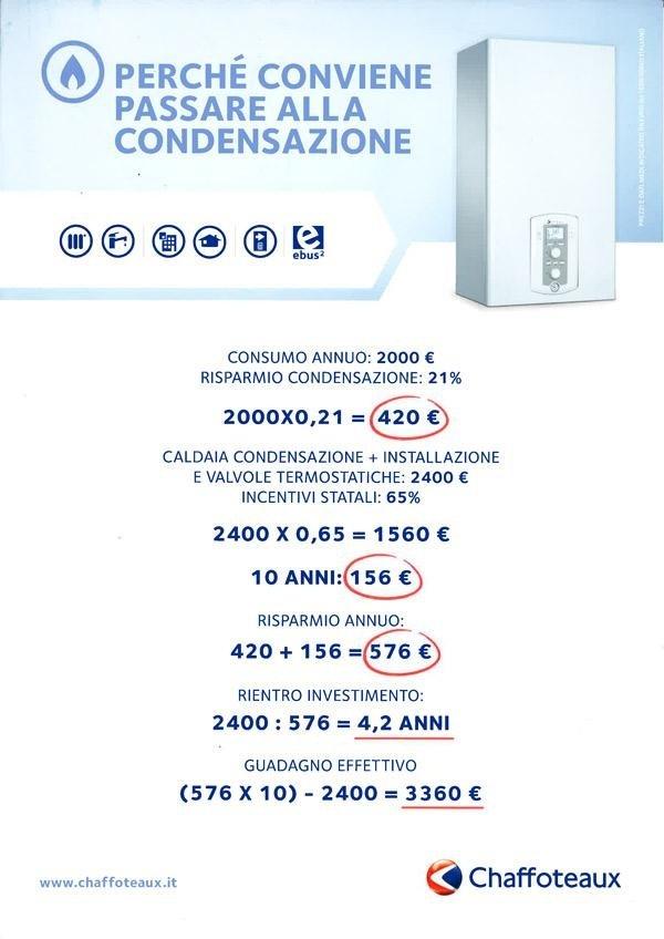 Caldaia A Condensazione Chaffoeaux Palermo Caldaie Buttiglieri