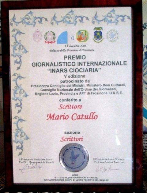 Scrittore Catullo Mario