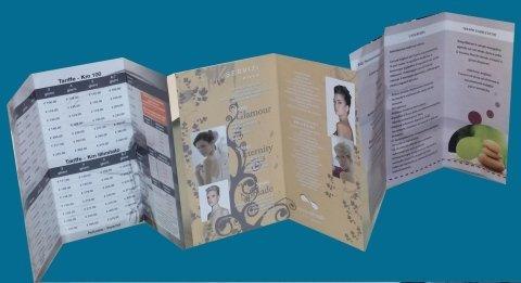 realizzazione e stampa di brochure