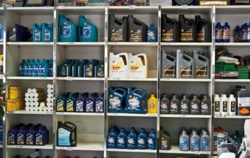 La Mostra: lubrificanti, olii