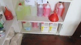 Vendita prodotti per pulizie