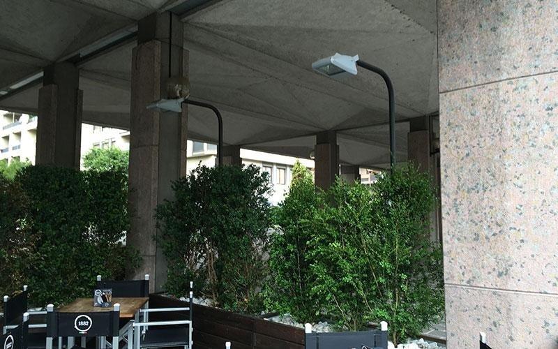 Illuminazione terrazzi esterni