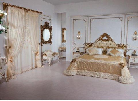 romantic cn rose letto