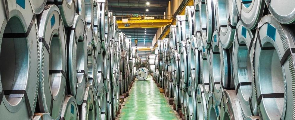 commercio lamine acciaio