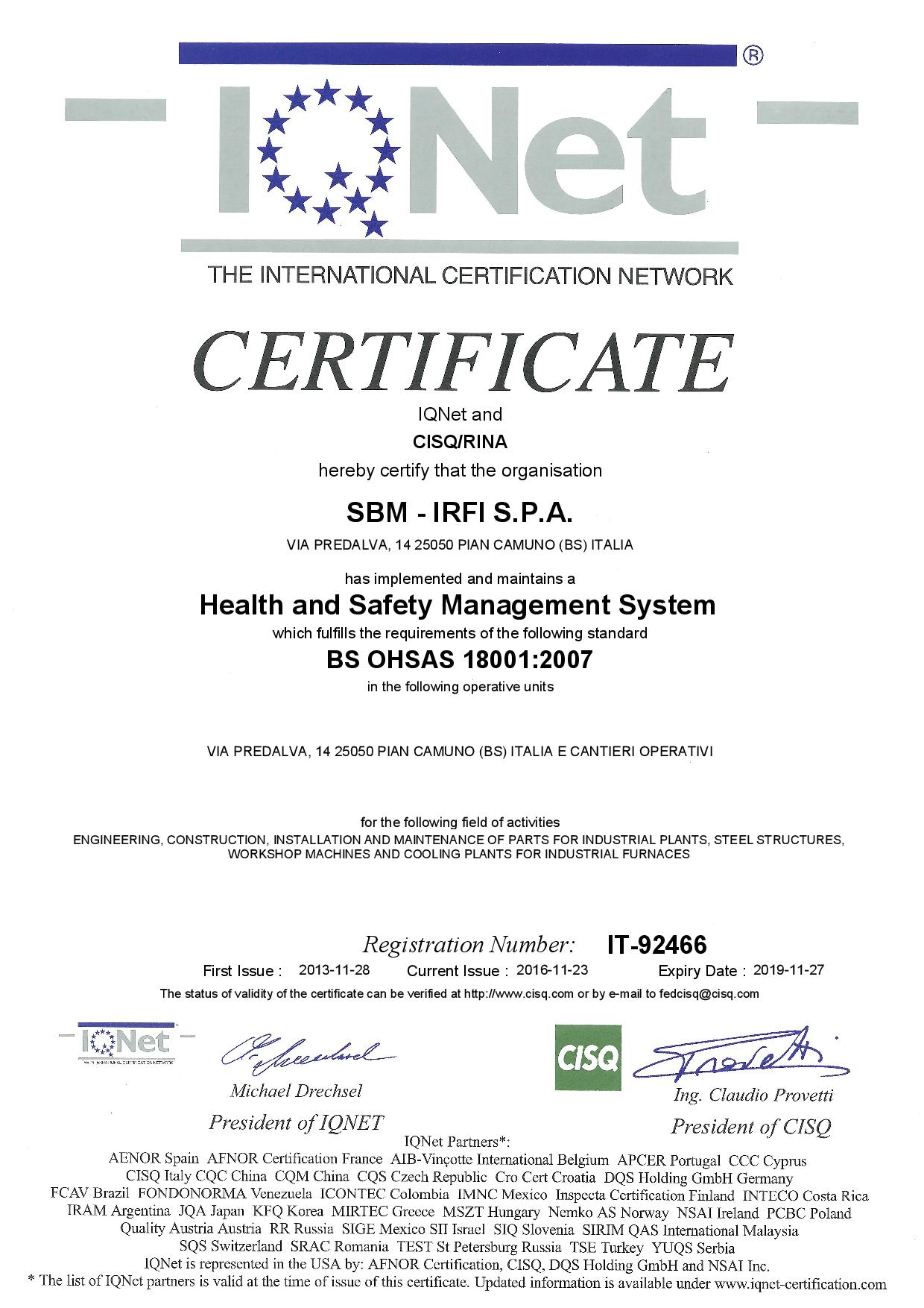 Certifications pian camuno brescia sbm irfi spa view all 1betcityfo Image collections