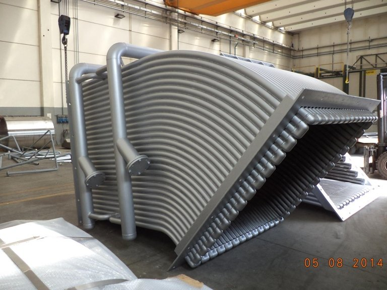 ducts and dust bags - COOLED TUBE DUCT