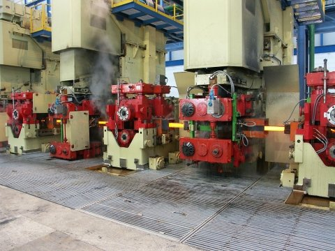rolling mill components - VERTICAL AND HORIZONTAL RETAINERS