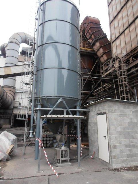 montage de silos